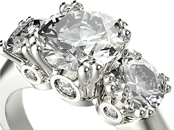 custom jewelry design - diamond resetting